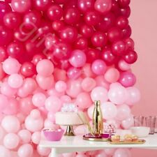 210pc Pink Ombre Balloon Wall Arch Birthday Wedding Decor Party Photo Backdrop