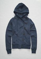 New Hollister Women's Buttons Closure Hoodie Size XS, Small