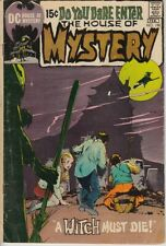THE HOUSE OF MYSTERY 190 VG NEAL ADAMS COVER