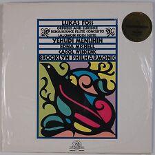 LUKAS FOSS: Orpheus and Euridice, Menuhin, Brooklyn NEW WORLD SEALED Vinyl LP