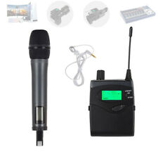 UHF Wireless Handheld Microphone for DSLR Camera Video Camcorder DV Interview