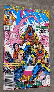 Uncanny X-Men #282 VF/NM Marvel Newsstand Variant Cover 1st Appearance of Bishop