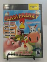 Farm Frenzy 2: Bonus Edition - Back to the Barnyard with 5 Great Games-NEW