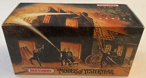 Matchbox Models Of Yesteryear 1937 GMC Rescue Squad Van Die Cast