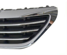 1Set Auto Upper+Lower Bumper Grilles Intake Grill Cover Fit For Peugeot 408 2014