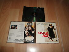 SISTER ACT MUSIC CD WHOOPI GOLDBERG FROM THE ORIGINAL MOTION PICTURE SOUNDTRACK