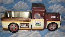 HERSHEY'S MILK CHOCOLATE TIN TRUCK OPEN BED 2003