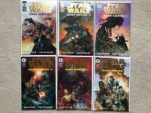 Star Wars Dark Empire II Gold 1 2 3 4 5 6 1st Solo Children Dark Horse Comics