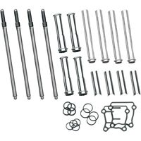 S&S CYCLE ADJUSTABLE PUSH ROD KIT 93-5095 FOR HARLEY DAVIDSON 1999-2017 TWIN CAM