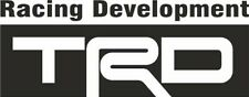 TRD Toyota Racing Development Decal JDM Sticker Drift Japan