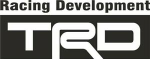 TRD Toyota Racing Development Decal JDM Sticker Drift Japan