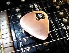 Love Copper Guitar Pick with Rocking Heart Cut Out