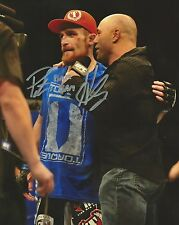 Pat Healy Signed UFC 159 8x10 Photo Picture w/ Joe Rogan Fight of the Night Auto