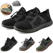 Mens Work Safety Shoes Trainers Indestructible Steel Toe Work Boots Sports Shoes