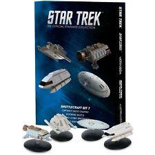 More details for star trek eaglemoss shuttle set 7 with okudagrams