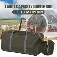 L/M Oxford Large Duffle Bag Traveling Camping Tents Luggage Storage Handbag v
