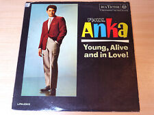 EX- !! Paul Anka/Young Alive And In Love/1962 RCA Victor LP/Italian Issue