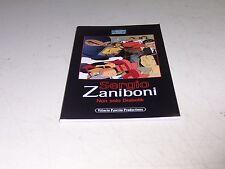 SERGIO ZANIBONI NON SOLO DIABOLIK PAVESIO EDITORE OTTIMO PERFETTO!!!