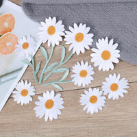 Sun Flower Daisy Sew on/Iron on Embroidered Patch Diy Craft Clothes Appli Yf