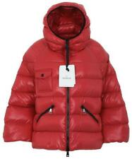 NEW MONCLER AGNES GOOSE DOWN LOGO HOODED PONCHO JACKET 2//44/M