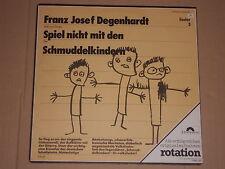FRANZ JOSEF DEGENHARDT -Spiel nich mit den Schmuddelkindern- LP