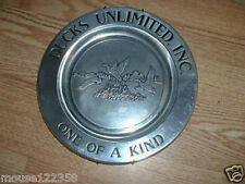 Ducks Unlimited Limited Edition Plate  1 of 500 Coors