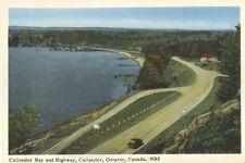 Highway CALLANDER Bay Ontario Canada 1950s PECO Postcard