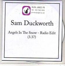 (CH355) Sam Duckworth, Angels In The Snow - 2011 DJ CD