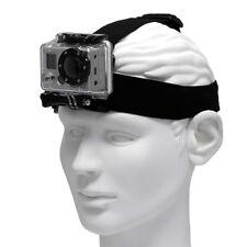 Adjustable Elastic Head Strap Mount for GoPro Go Pro HD Hero 2 3 3+ 4 Session