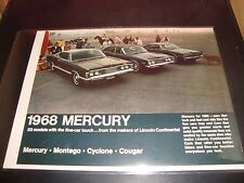 1968 Chevy Trucks NM Condition Brochure Campers Recreational Vehicles Chevrolet