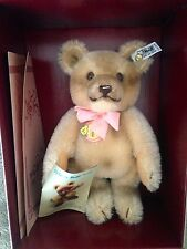 "Steiff Jackie Bear 0190/25 10"" Replica 1953 Limited Edition - NRFB w/certificate"
