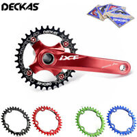 DECKAS 104/96BCD-S MTB Bike Chainring Narrow Wide Cycling Chain ring 32-38T