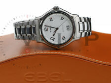 EBEL 1911 SENIOR BIG DATE UHR HERRENUHR STEEL MEN'S WATCH MONTRE OROLOGIO RELOJ