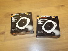 Pair of Sound Track 70 mid range midrange CT-60 New in box