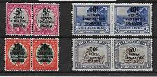 KENYA, UGANDA & TANGANYIKA SG151/4 1941-2 PICTORIAL OVERPRINT SET MTD MINT
