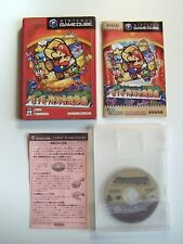 Nintendo Gamecube Jeu Paper Mario RPG Japan