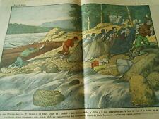 Portage dans l'extreme Nord Les soeurs Grises Canadiennes Print 1927
