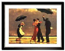 Bild Kunstdruck Jack Vettriano The singing Butler mit Rahmen  -40% SALE