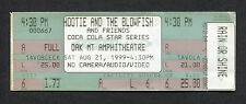 1999 Hootie & The Blowfish Unused Full Concert Ticket Oak Mountain Amphitheatre