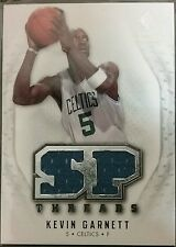 KEVIN GARNETT 2008-09 Upper Deck SP Rookie Threads Dual Game Used Jersey Relic