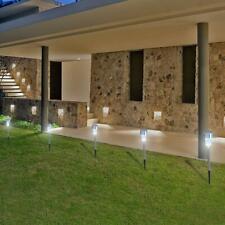 10PCS Solar Path LED Outdoor Garden Yard Solar Lights Lamp Walkway Path Landscap