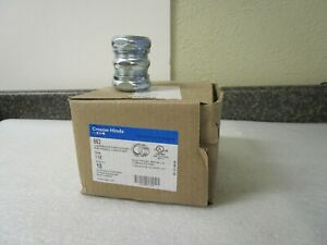 """Qty (6) Eaton Crouse Hinds 663 1 1/4"""" Compression Type Coupling Thinwall Conduit"""