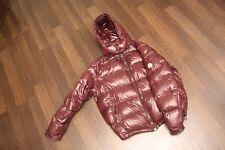 Moncler Maya Daunenjacke, Down Jacket, XXL, 7, 58,  Rot, Red,