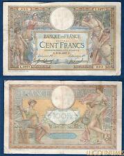 100 Francs Luc Olivier Mer son Type 1906 Sans LOM – 9/10/1909 L.1077 TB