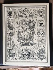 "Ravi Zupa Mystery, ""Babylon The Great! Ltd. Ed Signed Numbered Silkscreen W.COA"