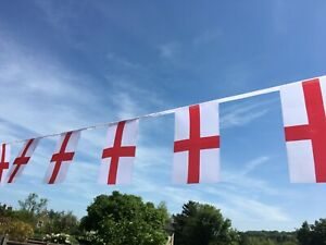 St George England Fabric Bunting - with quick free first class postage