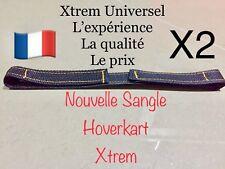 XTREM UNIVERSEL 2 Sangles Overkart Over  Fixation Carte Cart Scratch overcarte
