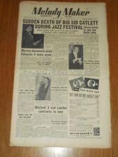 MELODY MAKER 1951 #915 MAR 31 JAZZ SWING SID CATLETT SHARON SEXTET ELLINGTON