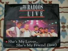 "THE RADIOS - She's My Lover She's My Friend LIVE DUTCH 7"" P/S 1992 Bart Peeters"