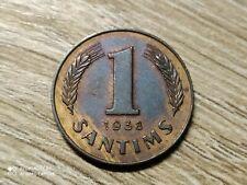 Latvia 1 santim 1938 XF